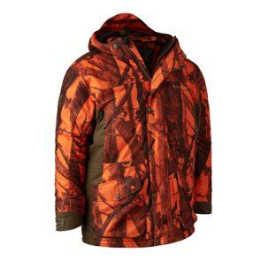 Deerhunter Cumberland Arctic Jacket In DH 77 Innovation Blaze Camo