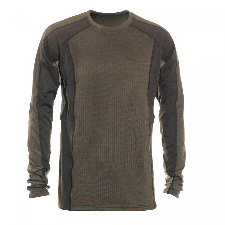 Deerhunter Greenock Underwear Shirt With Zip Neck In DH ...