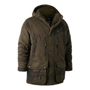 Deerhunter Muflon Jacket (Long) in DH 376 Art Green