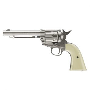 Colt Peacemaker Nickel Full Metal, CO2 Air Pistol