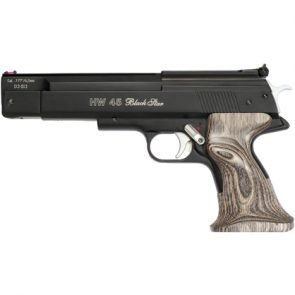 Weihrauch HW45 Black/Silver Star Air Pistol