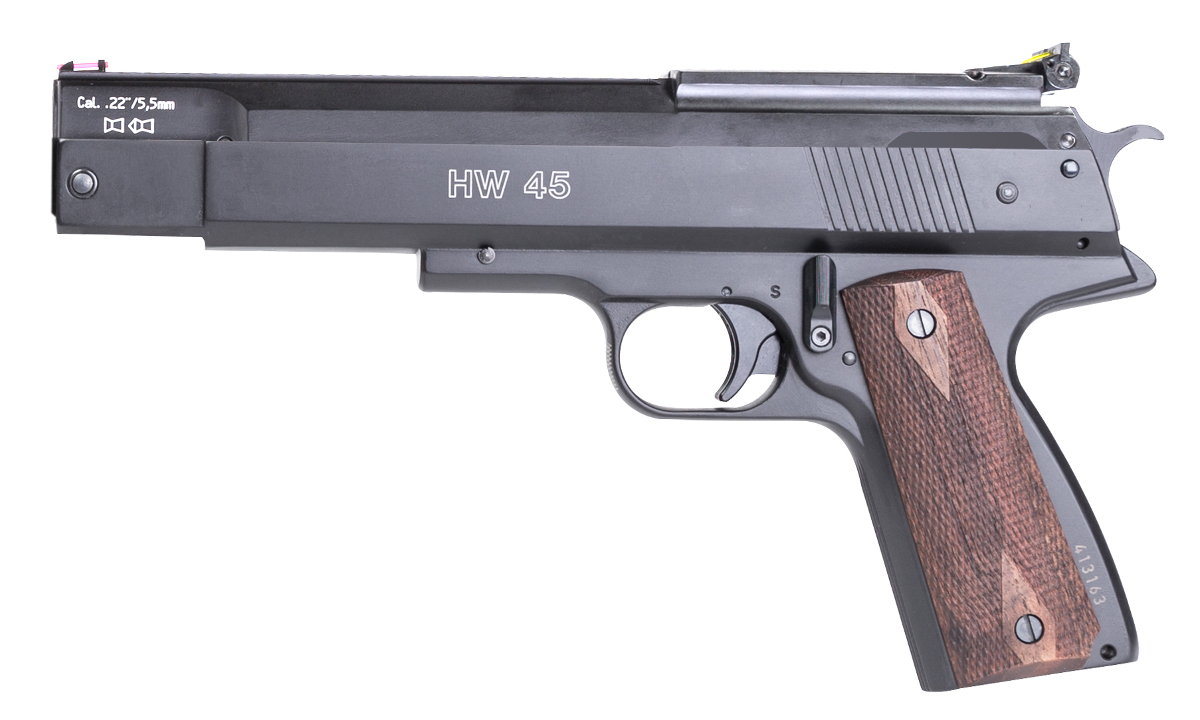 Weihrauch HW45 Spring-Powered Air Pistol