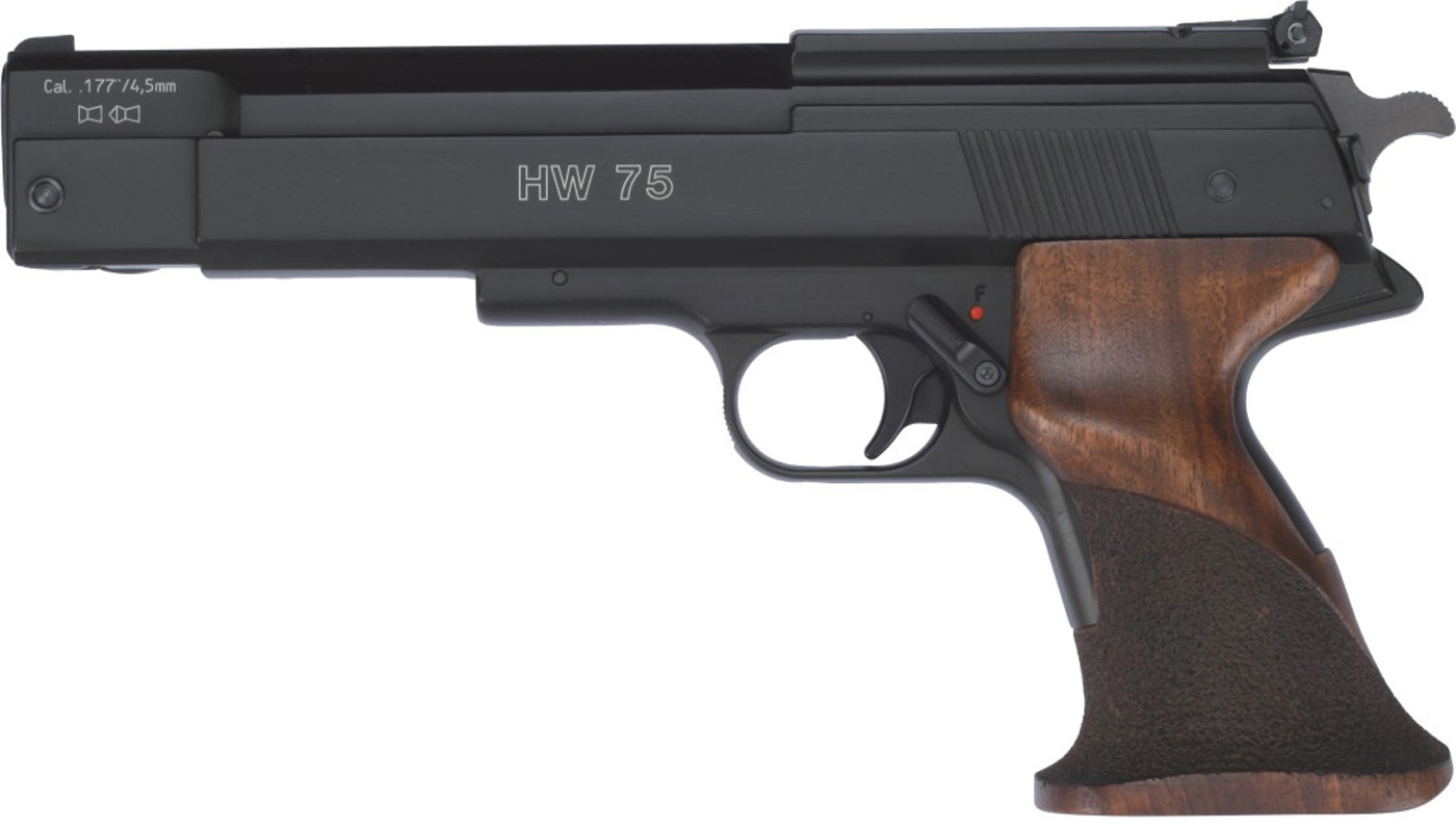 Weihrauch HW75 Spring-Powered Air Pistol | The Hunting ...