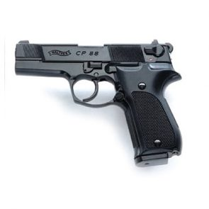 "Walther CP88 4"" CO2 Air Pistol, Black"