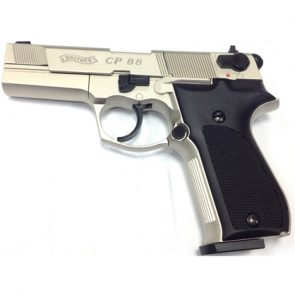 "Walther CP88 4"" CO2 Air Pistol, Nickel"