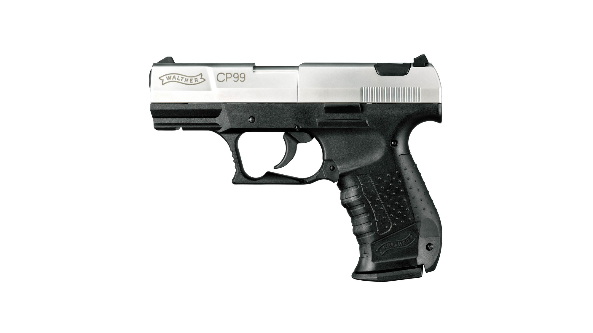 walther cp99 bicolour co2 air pistol the hunting edge hunting rh thehuntingedge co uk Walther Nighthawk Manual Walther CP99 Compact CO2 Gun