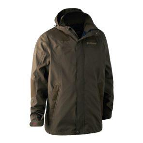 Deerhunter Track Rain Jacket in 380 DH Canteen