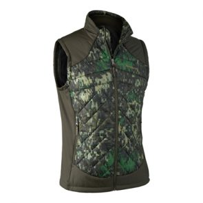 Deerhunter Cumberland Quilted Waistcoat in DH 80 IN-EQ Camouflage