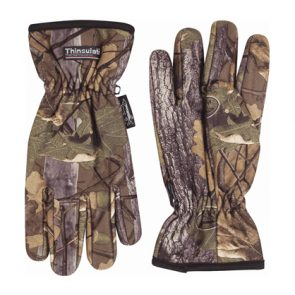 Jack Pyke Fleece Gloves In English Oak