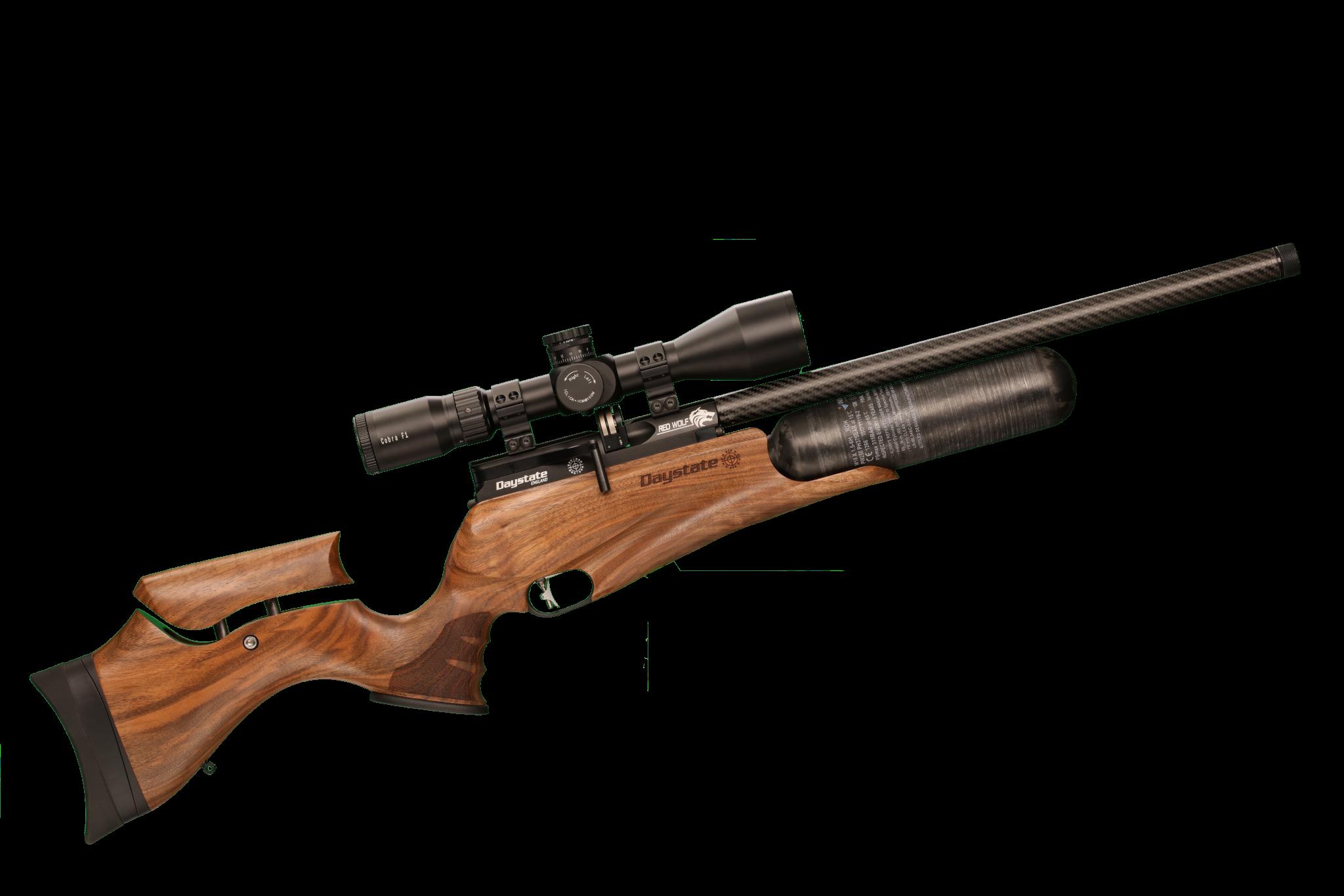 Daystate Red Wolf Walnut B Type  177 &  22 Air Rifle
