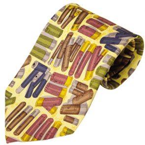 Bisley Cartridges Patterned Silk Tie