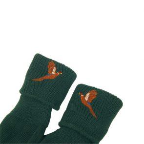 Bisley Embroidered Shooting Stockings