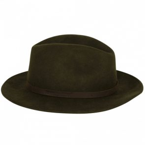 Deerhunter Adventurer Felt Hat in DH 331 Green