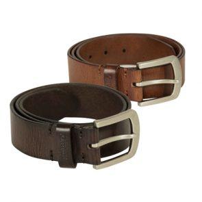 Deerhunter Leather Belt, width 4 cm
