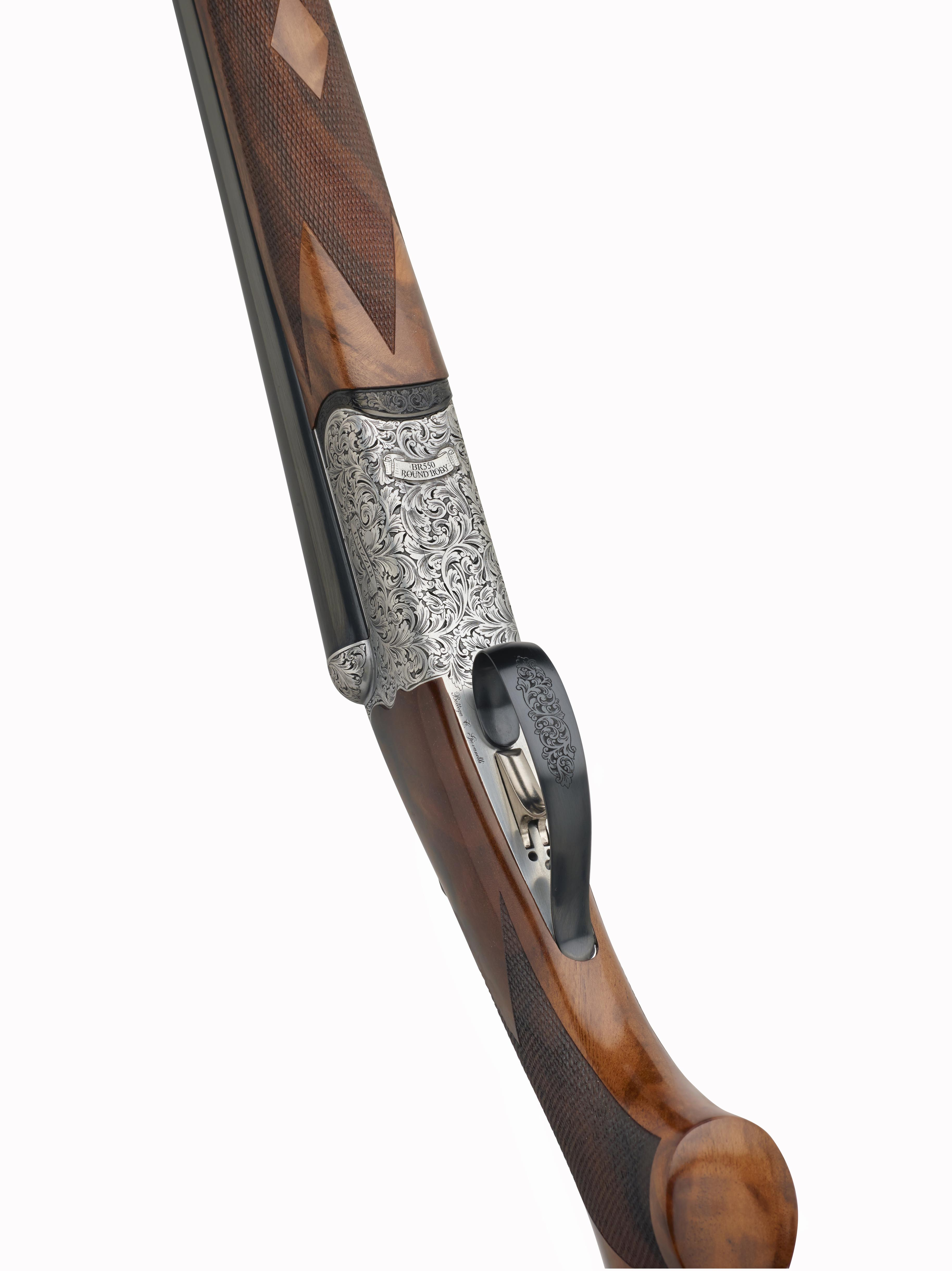 Rizzini BR 550 RB (Round Body) Side-by-Side Game Shotgun