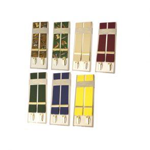 Bonart Plain and Patterned Logo Braces with Clips