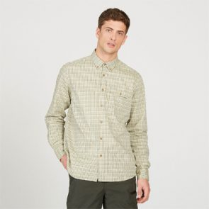 Aigle Huntjack Shirt in Bronze Green
