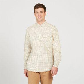 Aigle Huntjack Shirt in Naturel Beige