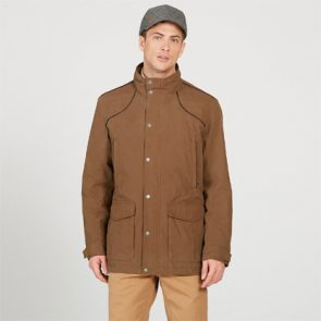 AIGLE Signature Jacket in Brown
