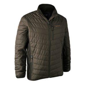 Deerhunter Moor Padded Jacket w. Softshell in 393 DH Timber