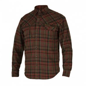 Deerhunter Rhett Shirt L/S in 499 DH Red Check