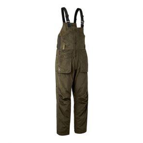 Deerhunter Rusky Silent Bib Trousers In 391 DH Peat