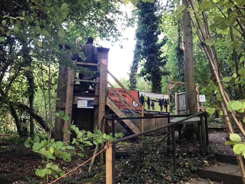 Martin Gorse Wood Clay Pigeon Club The Hunting Edge