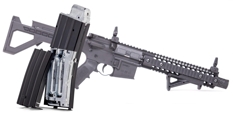 Crosman DPMS M4 SBR Semi-Auto CO2 Air Rifle