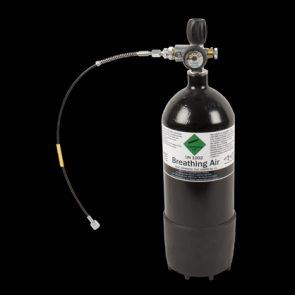 4 ltr 300 BAR Cylinder C/W Gauge & Boot