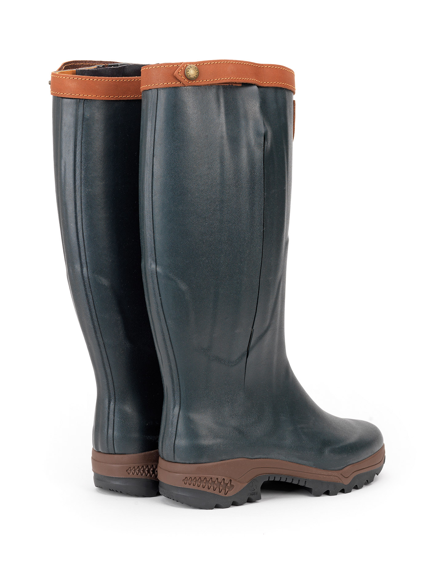 aigle parcours iso open wellingtons boots