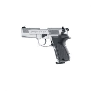 "Walther CP88 4"" CO2 Polished Chrome Air Pistol"