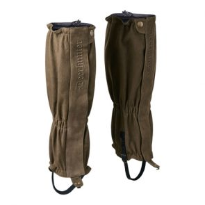 Deerhunter Marseille Leather Gaiters in 552 DH Walnut