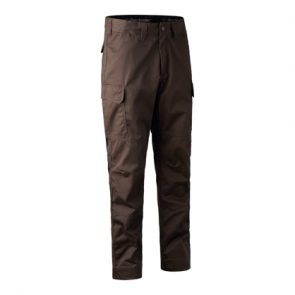 Deerhunter Rogaland Expedition Trousers in DH 571 Brown Leaf