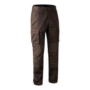 Deerhunter Rogaland Stretch Trousers in Brown Leaf