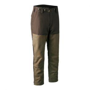 Marseille Leather Mix Boot Trousers in 552 DH Walnut