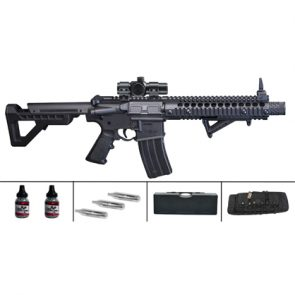 Crosman DPMS M4 SBR Semi-Auto CO2 Air Rifle Kit