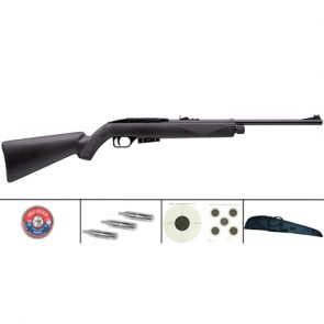 Crosman 1077 Synthetic .177 CO2 Air Rifle Kit