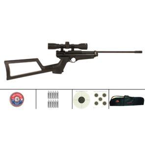 Crosman 2250 XL (Ratcatcher) .22 CO2 Air Rifle Pro Kit