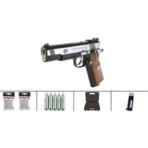 Colt 1911 Special Combat Classic CO2 177 BB Air Pistol Kit