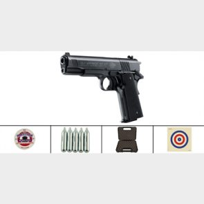 Colt Government 1911 A1 .177 CO2 Air Pistol Kit