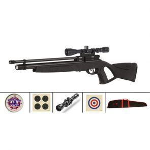 GAMO Coyote Black Tactical PCP Air Rifle Kit