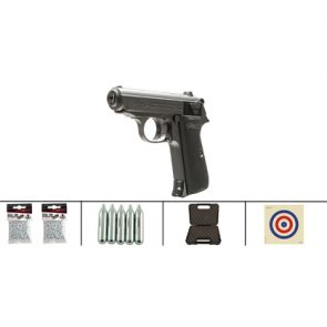 Walther PPK/S CO2 Air Pistol Kit