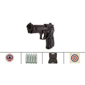 Beretta 92FS CO2 Black Air Pistol Kit