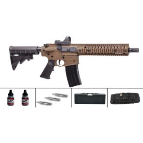 Crosman R1 Semi-Auto CO2 Air Rifle Tactical Kit