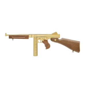 Umarex Legends M1A1 Legendary Gold Finish CO2 BB Submachine Gun