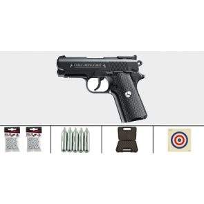Colt Defender 177 CO2 BB Air Pistol Kit