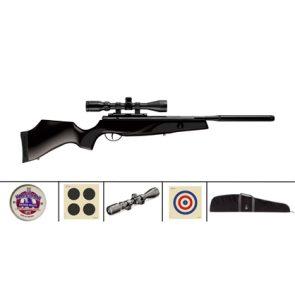 BSA Lightning XL SE Spring Black Air Rifle Kit