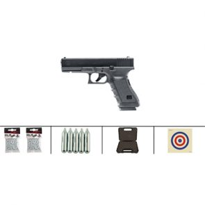 Glock 17 Pistol CO2 BB Air Pistol Kit