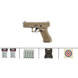 Glock 19X Blowback CO2 BB Air Pistol Kit