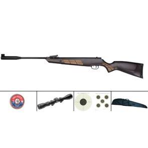 Norica Black Eagle .177 & .22 Spring Air Rifle Kit